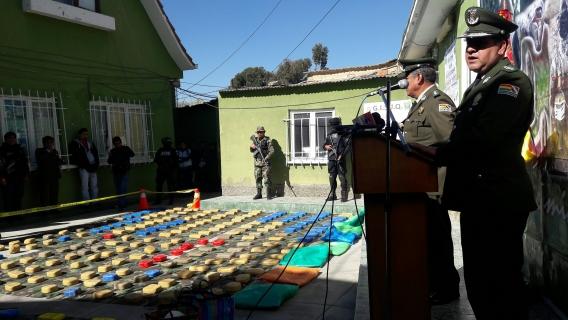 Organismos policiales bolivianos