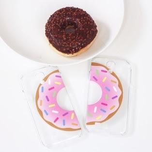 Carcasa personalizable donuts