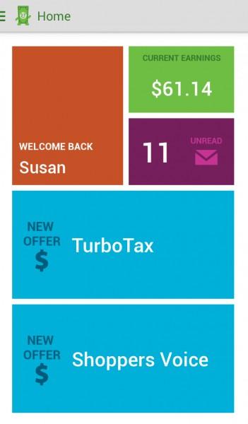 الربح من تطبيق inbox dollars