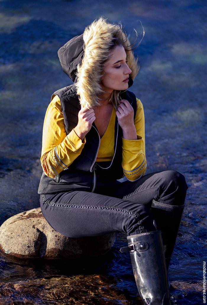 Chalecos de moda mujer invierno 2019. Moda otoño invierno 2019 mujer argentina.