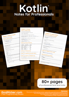 kotlin programming pdf book notes download for free