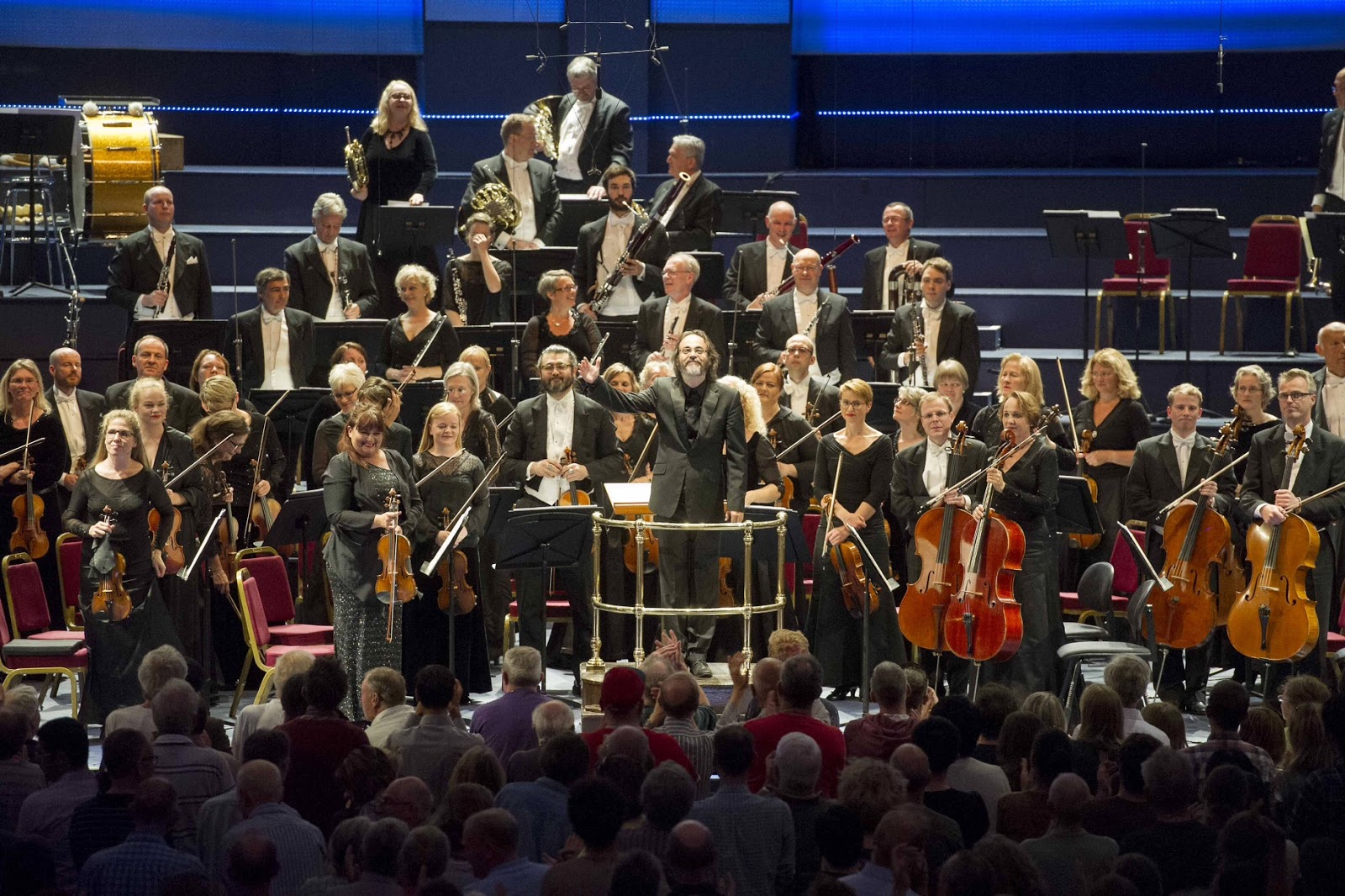 Ilan Volkov and the Iceland Symphony Orchestra's Proms Debut - Photo Alistair Muir
