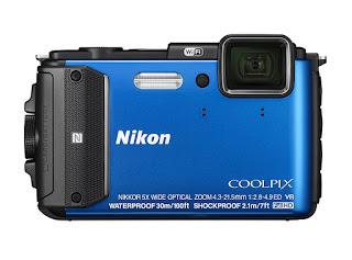 Rugged Waterproof travel camera