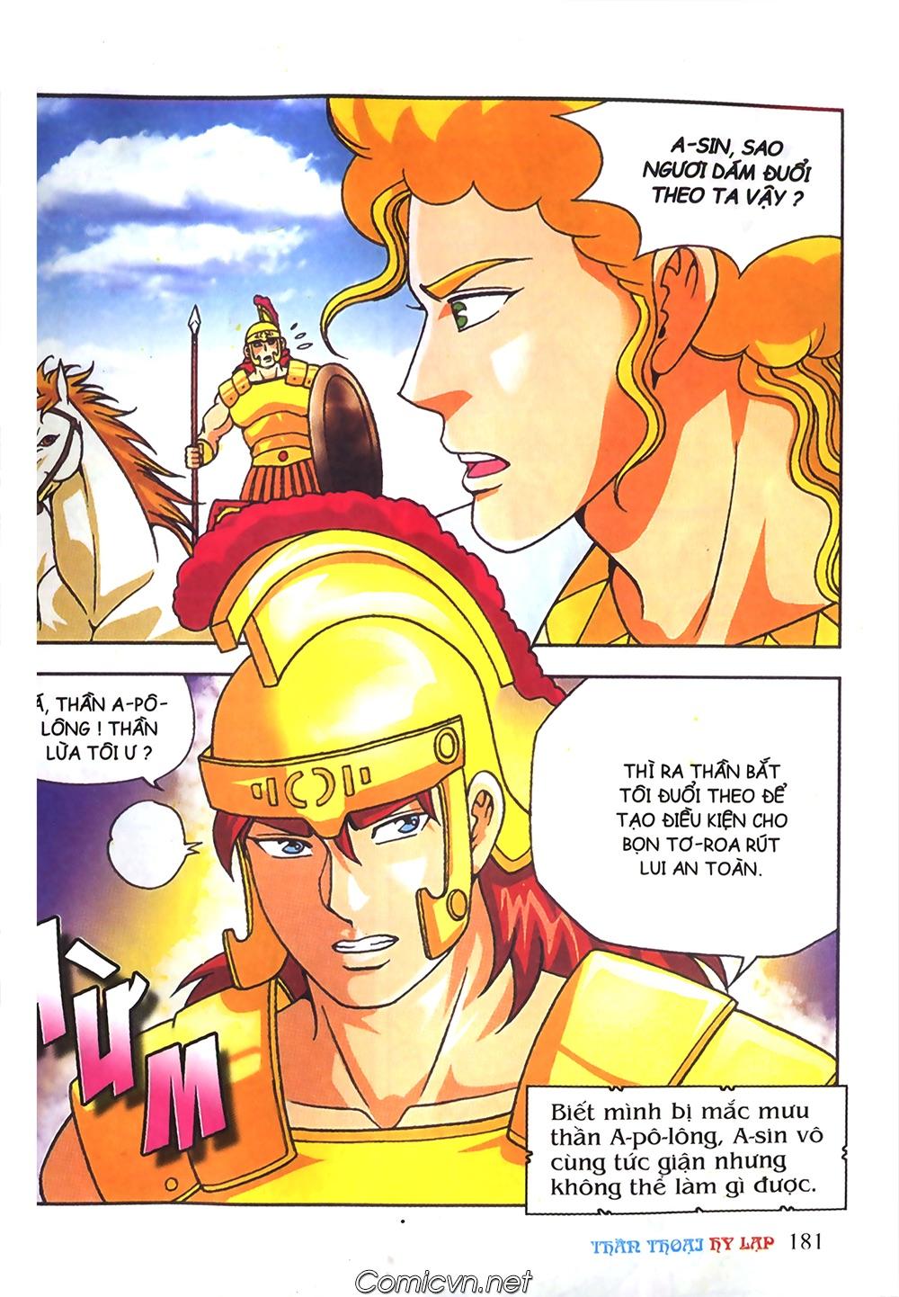 Thần Thoại Hy Lạp Màu - Chapter 61: So tài của hai vị tướng - Pic 10