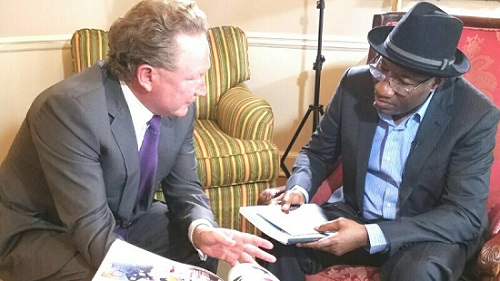 GEJ Working To Promote Liberty In Africa And Other Parts Of The World