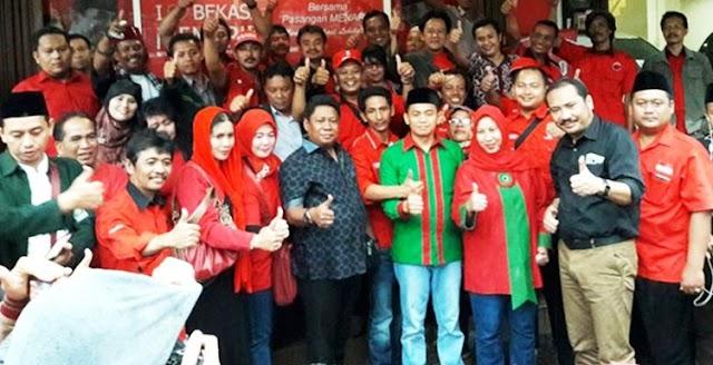 Untuk Kabupaten Bekasi,  Melly-Iik Luncurkan SMART Desa