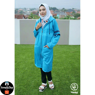 PREMIUM HIJACKET BEAUTIX HARBOR Original SPORTY PREMIUM FLEECE Jaket Muslimah