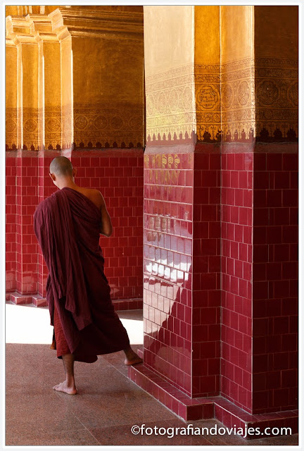 Mahamuni paya en Mandalay, Myanmar