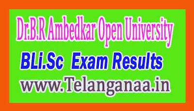 Dr.B.R Ambedkar Open University BLi.Sc Revaluation Results