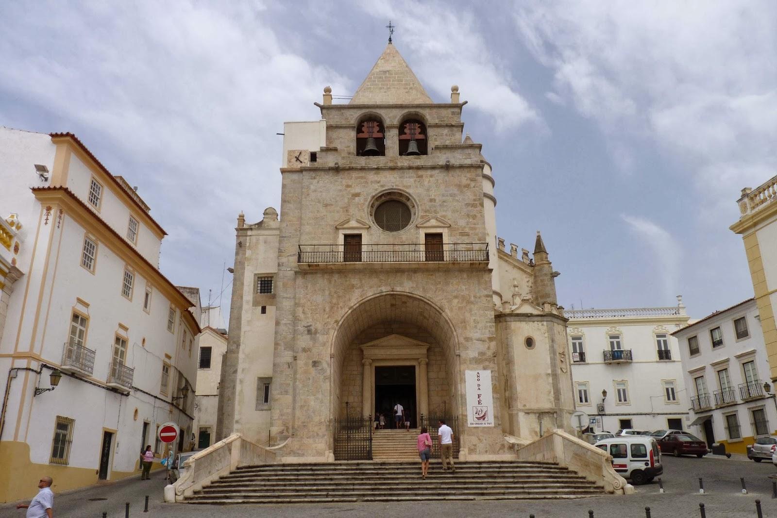 La Iglesia de Nuestra Señora de la Asunción de Elvas.