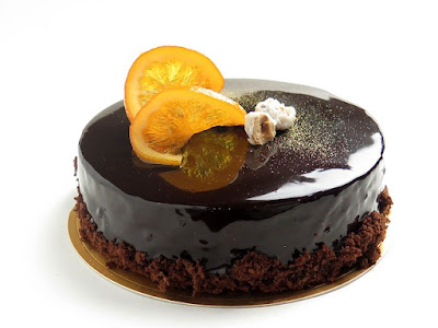 bolo de chocolate com calda de limão