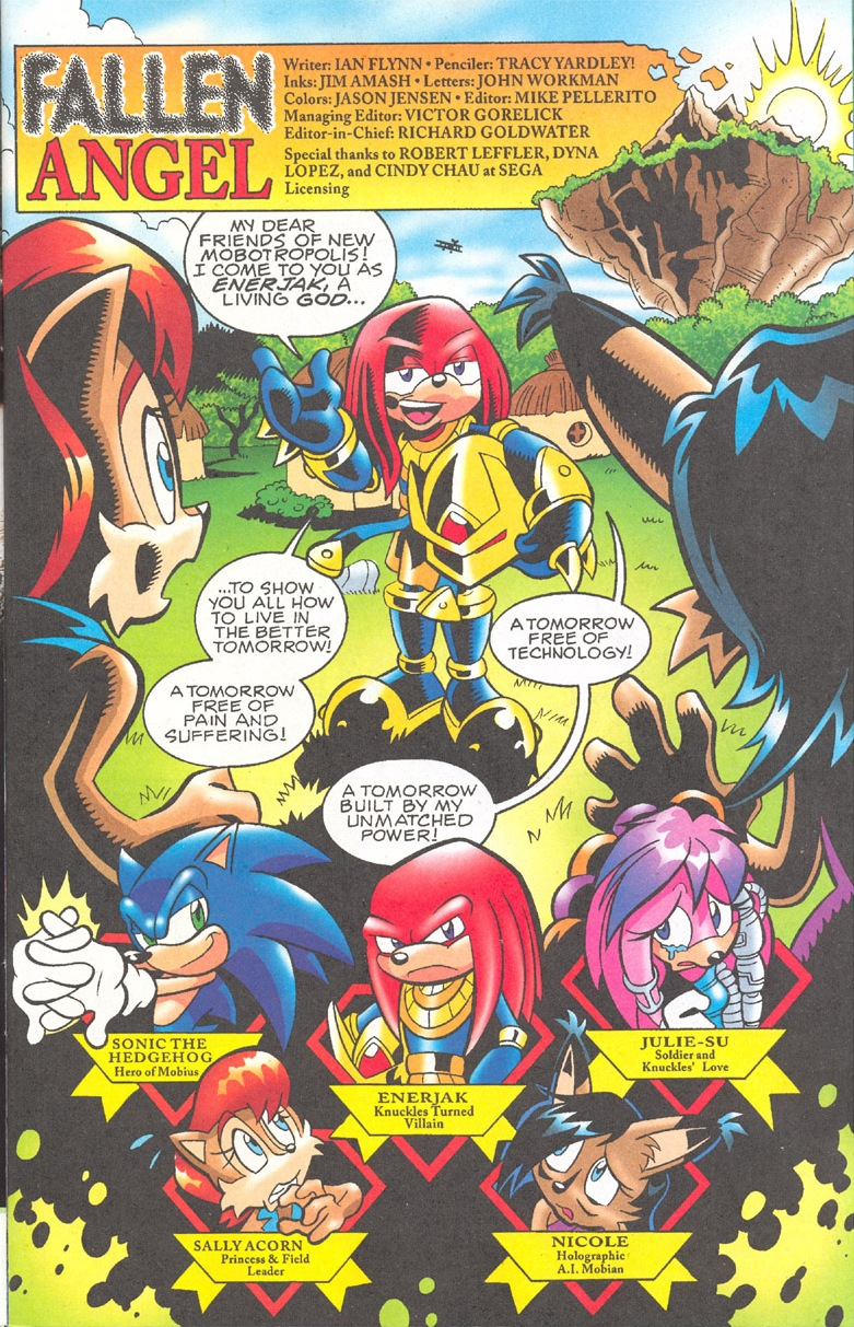 Read online Sonic The Hedgehog comic -  Issue #182 - 2