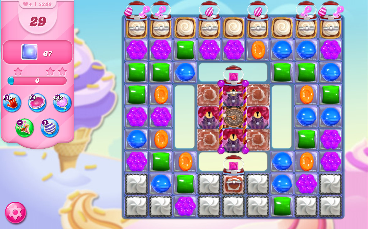 Candy Crush Saga level 5263