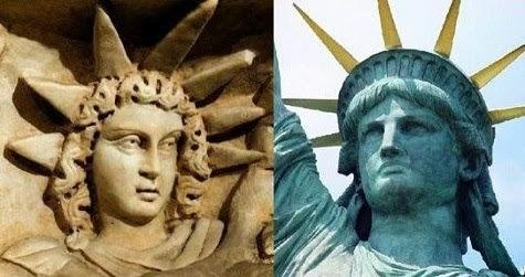 A estatua da liberdade é a deusa Inana Anunnaki