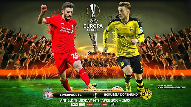 Liverpool x Borussia Dortmund - (14/04/2016) - Europa League - Horário, TV e Data