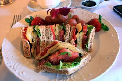 Leckere Gemüse Sandwiches müssen sein