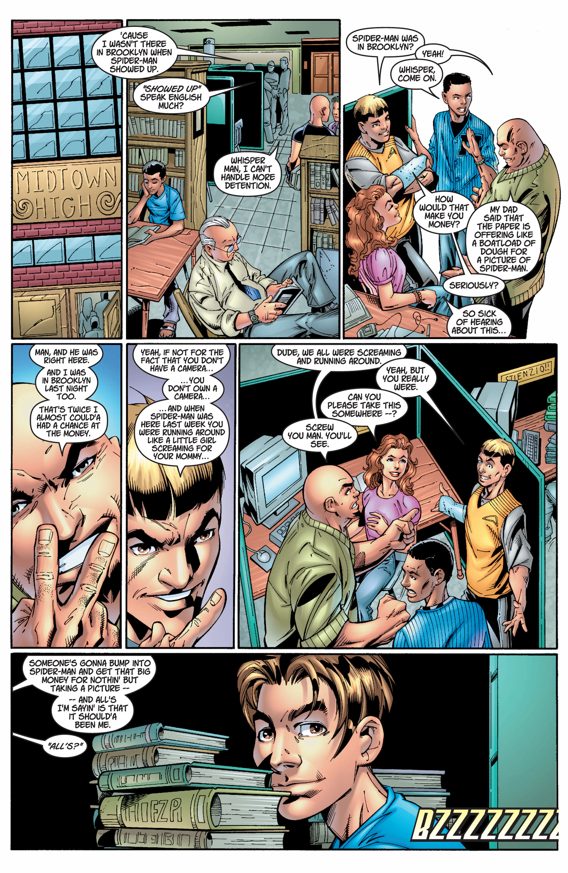 Read online Ultimate Spider-Man (2000) comic -  Issue #8 - 7