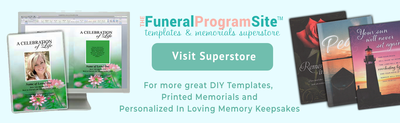 Click Below to Visit Our Printed Memorials Online Superstore!