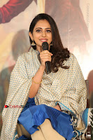 Actress Rakul Preet Singh Stills in Blue Salwar Kameez at Rarandi Veduka Chudam Press Meet  0050.JPG