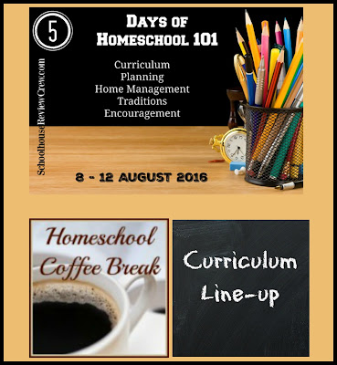 Homeschool 101 - Curriculum Line-up on Homeschool Coffee Break @ kympossibleblog.blogspot.com - On the first day of the Homeschool 101 blog hop hosted by the Schoolhouse Review Crew, we're talking curriculum. This is what we'll be using for Grade 10.