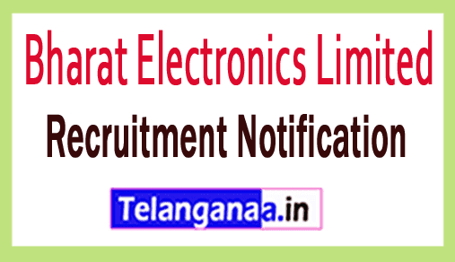 Bharat Electronics Limited BEL Recruitment Notification