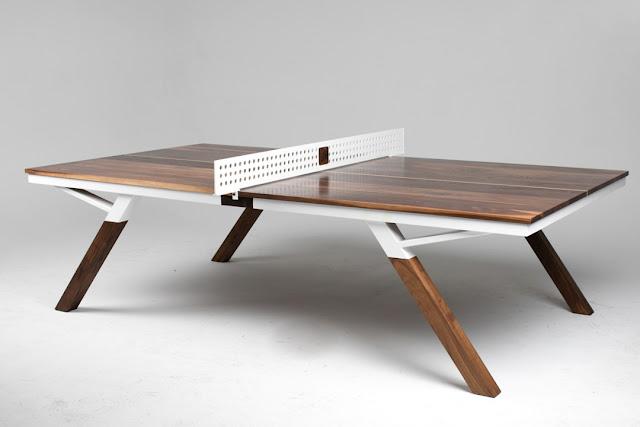 Tavolo da ping pong elegante per il salotto