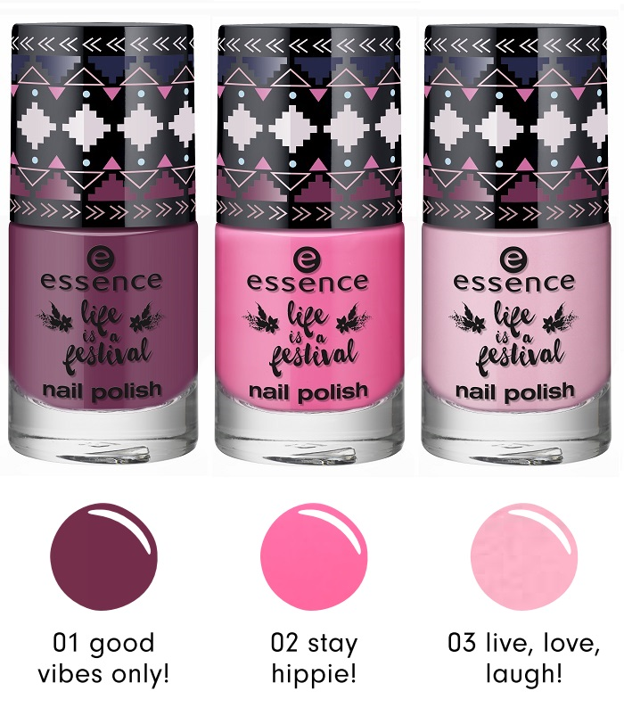 essence life is a festival Nagellack