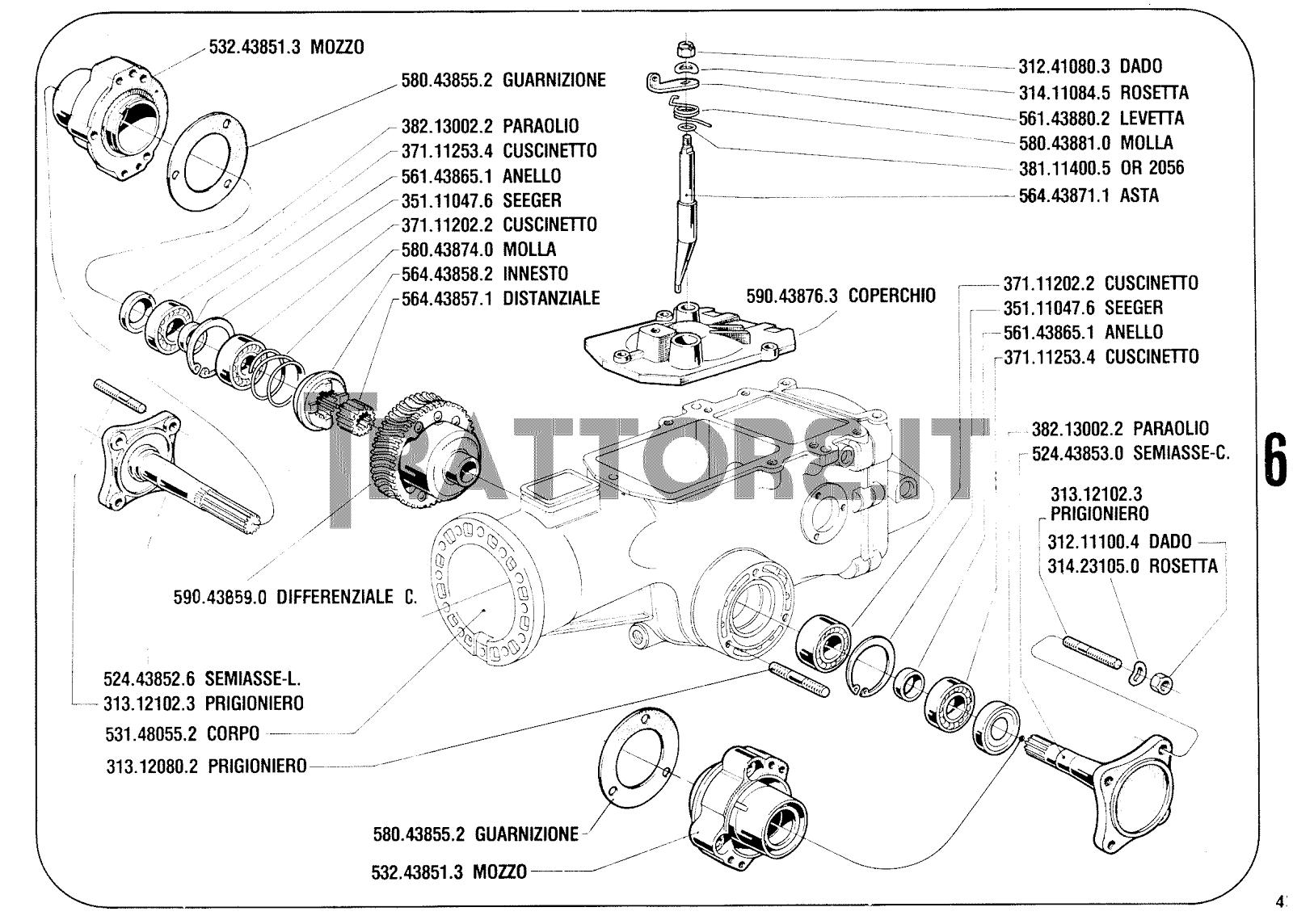 Bcs 735 manuale