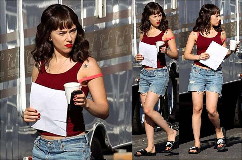 Scarlett Johansson In Tees By Tina Fashion Blog By Apparel Search