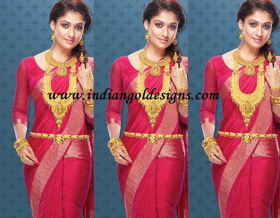 Latest saree designs nayantara in pink silk saree checkout nayantara in pink silk saree with zari border and paired with matching long sleeves blouse altavistaventures Image collections