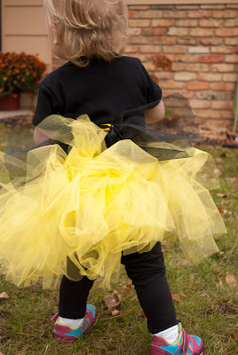 Easy to make and affordable bee costume