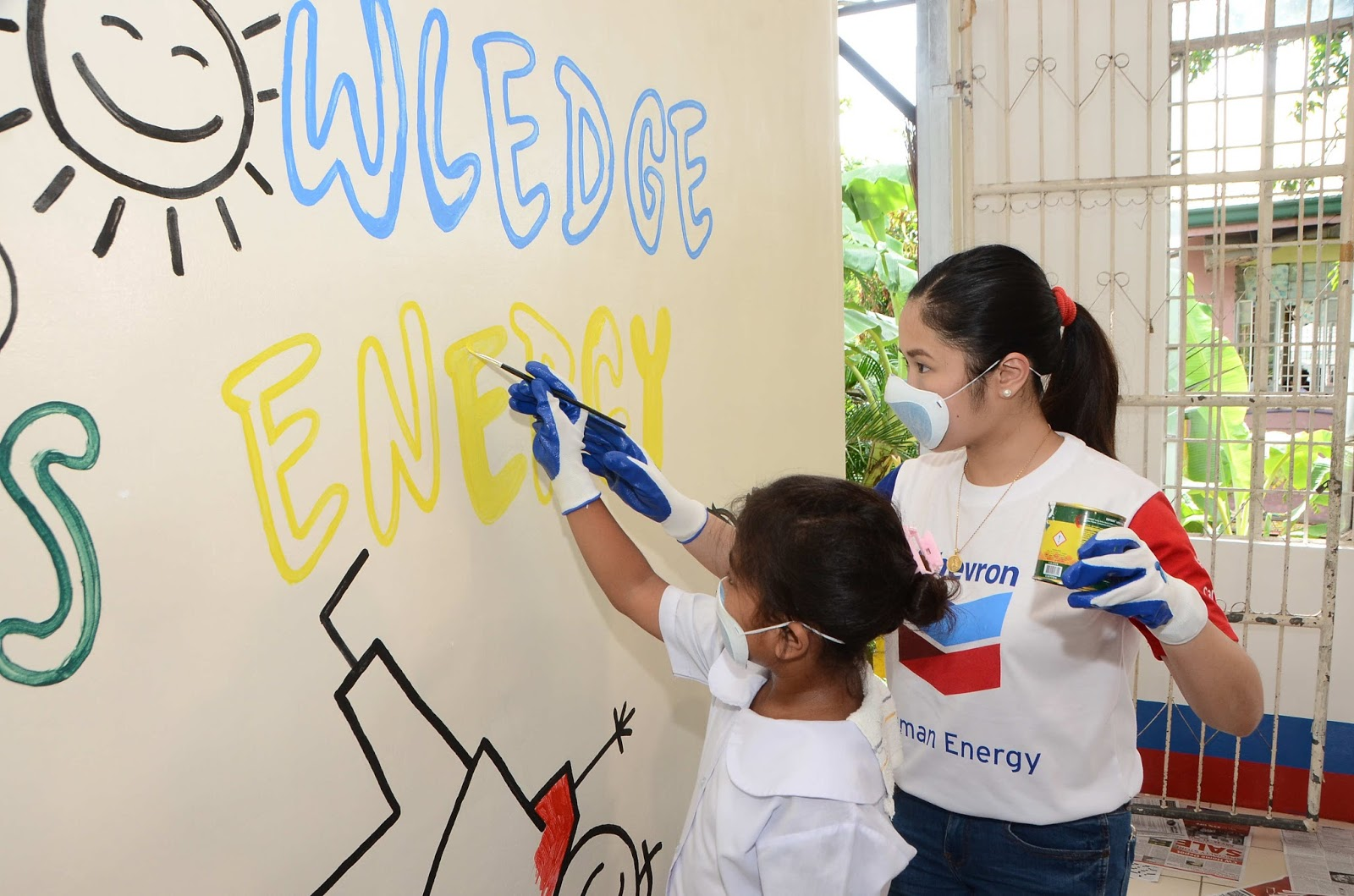 Chevron kicks off Week of Caring