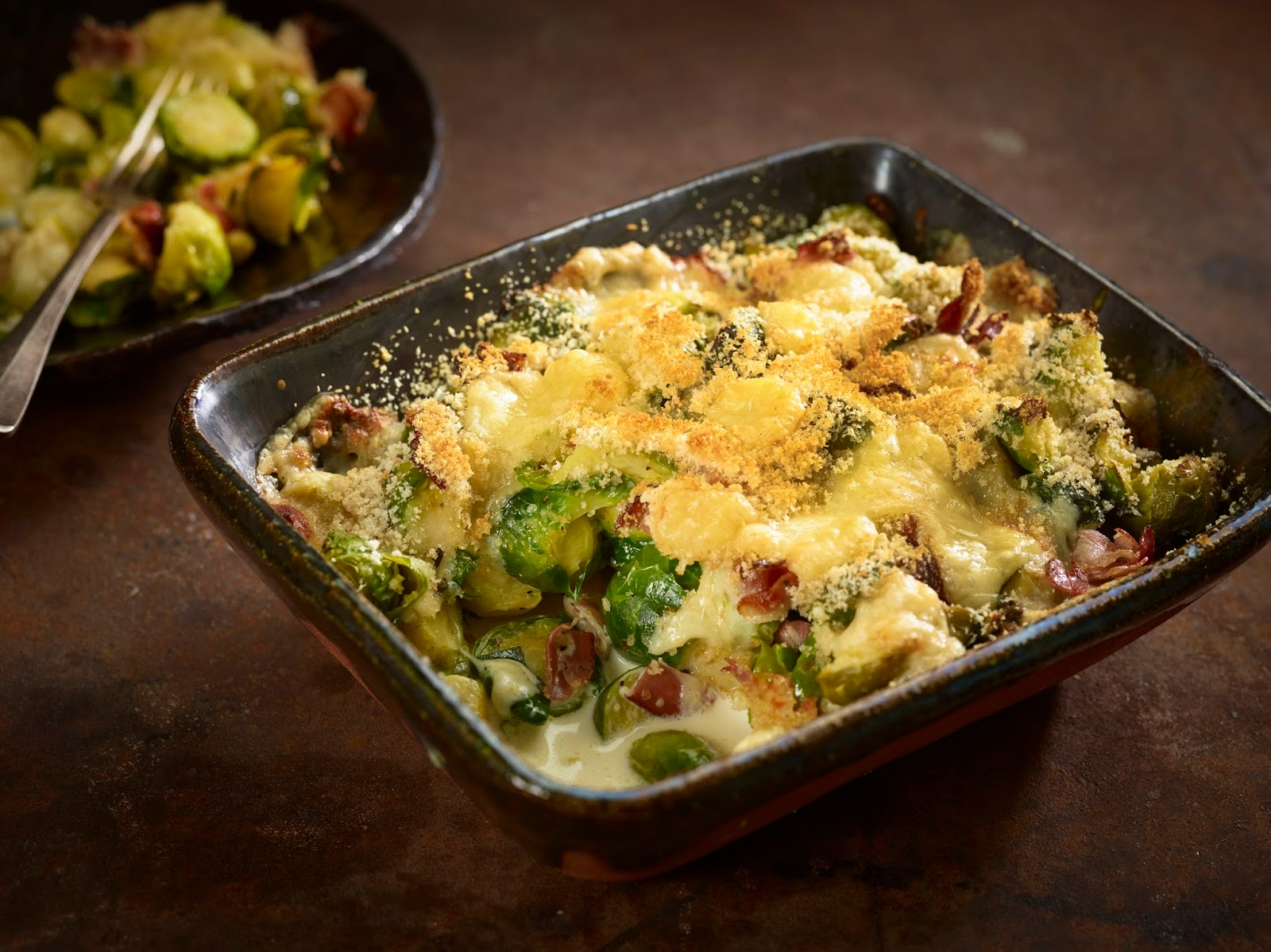 How To Make Brussels Sprout And Comté Gratin