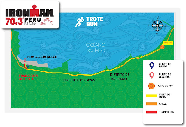 Concurso Triatlon Chorrillos Lima IRONMAN