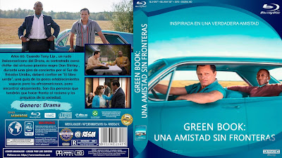 GALLETA - GREEN BOOK: UNA AMISTAD SIN FRONTERAS - LIBRO VERDE - GREEN BOOK
