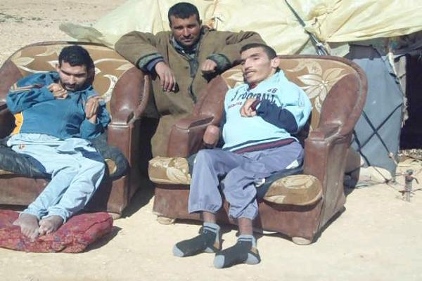 """تقرير حقوقي : 4ملايين معاق في الجزائر يعاملون  كـ """"مواطنين من الدرجة الثانية"""""""