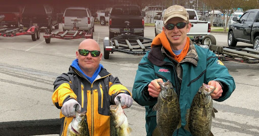 Fishing Report for Pickwick 4/13 and 4/15