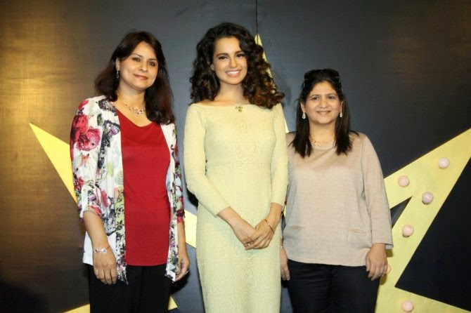 Kangana Ranaut at Tanishq Jewellery Collection Launch