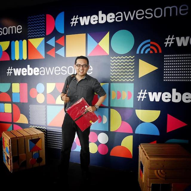 webe - Never Ending Data, webeawesome indeed