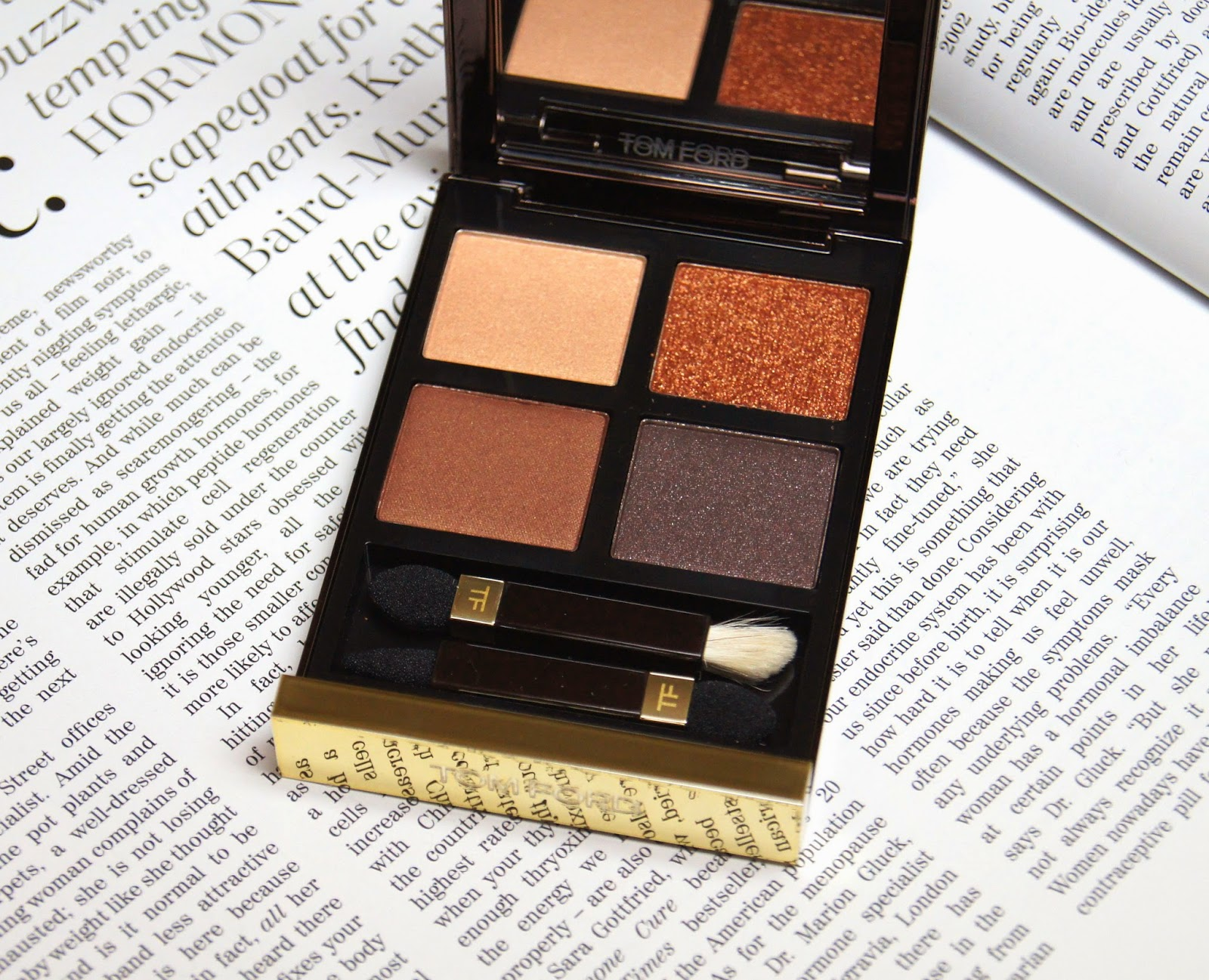 tom ford cognac sable eye color quad review