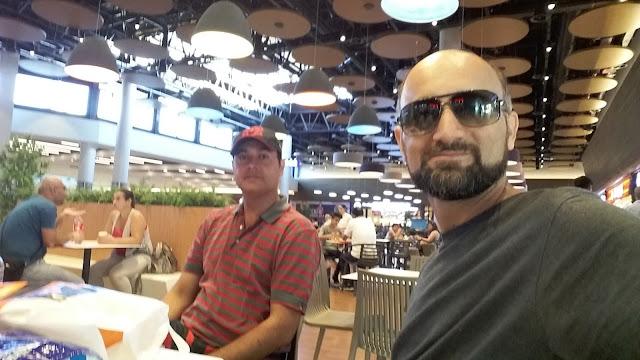 Nawaz Gilani and Asad Bilal at Mall of Antalya