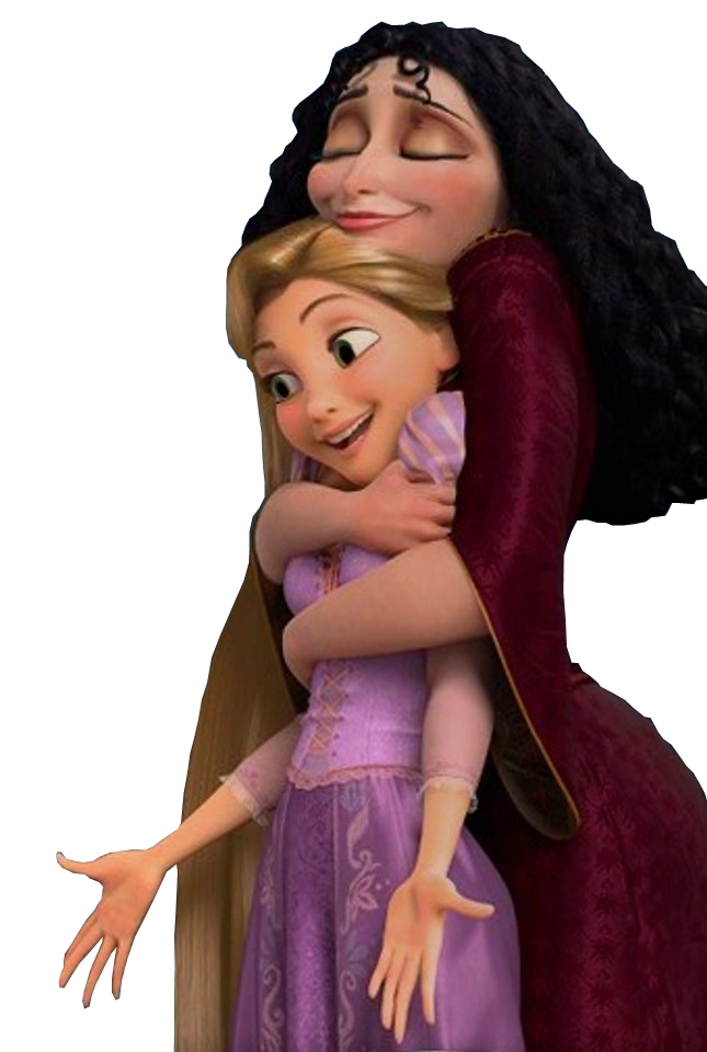 Render Rapunzel y Mother Gothle