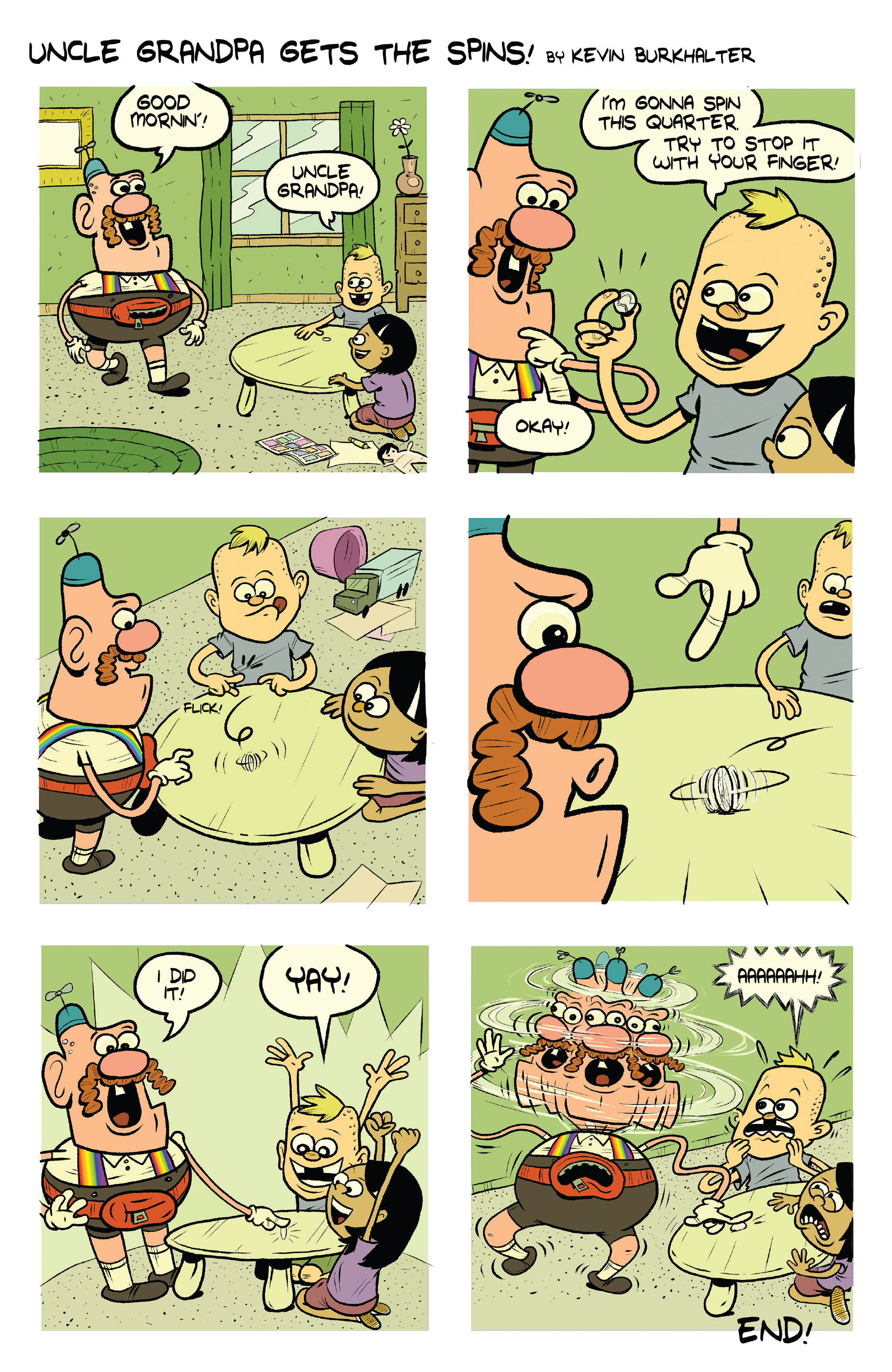 Read online Uncle Grandpa comic -  Issue #3 - 9