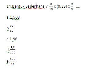 soal psikote matematika