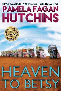 Heaven to Betsy - romantic mystery discount kindle book promotion Pamela Fagan Hutchins