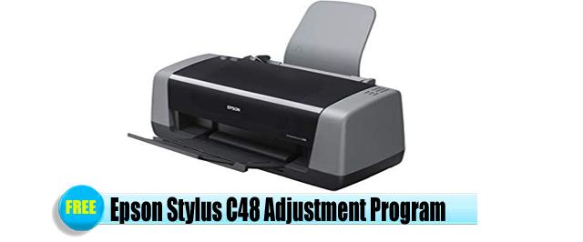 Epson Stylus C48 Adjustment Program