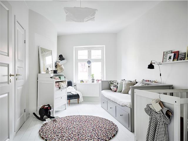 dormitorio infantil estilo escandinavo chicanddeco