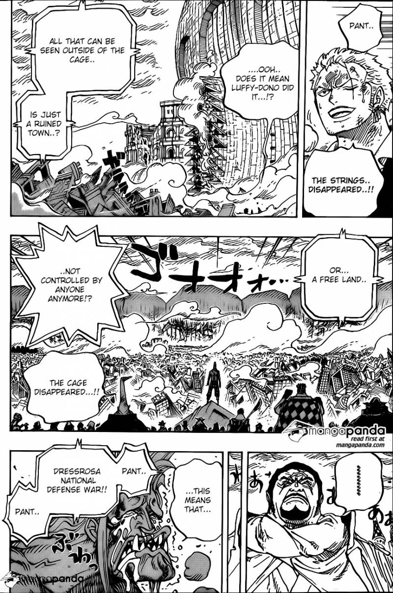 One Piece Ch 791: Rubble