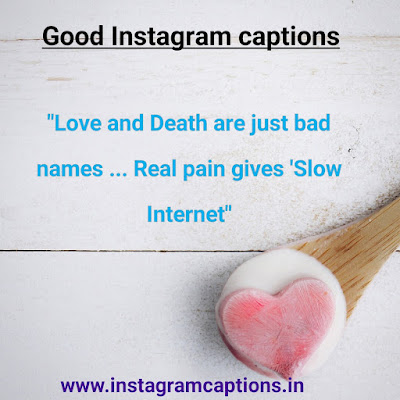 Good Instagram Caption about love