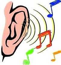 Dibujo del sentido del oído